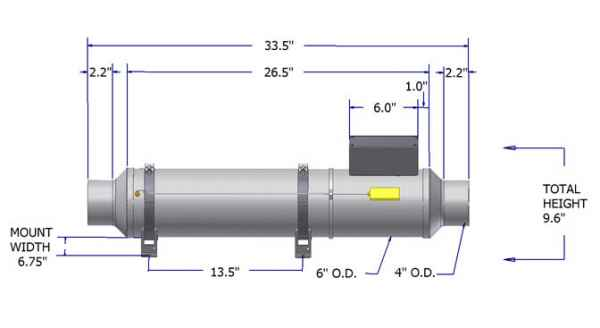 Flow Torch™ 600 diagram